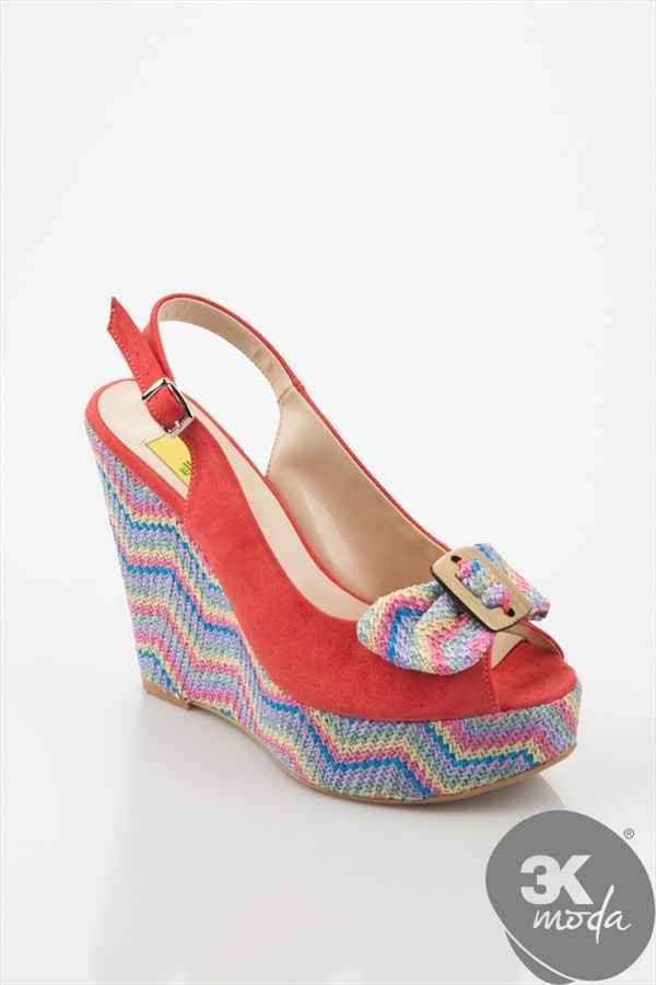Kırmızı Topuklu Ayakkabı Modelleri 2013