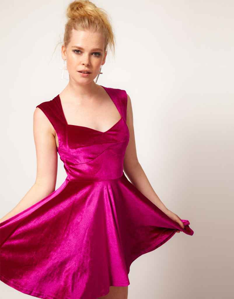 kadife elbise 2013 17 802x1024 Kadife elbise modelleri 2013