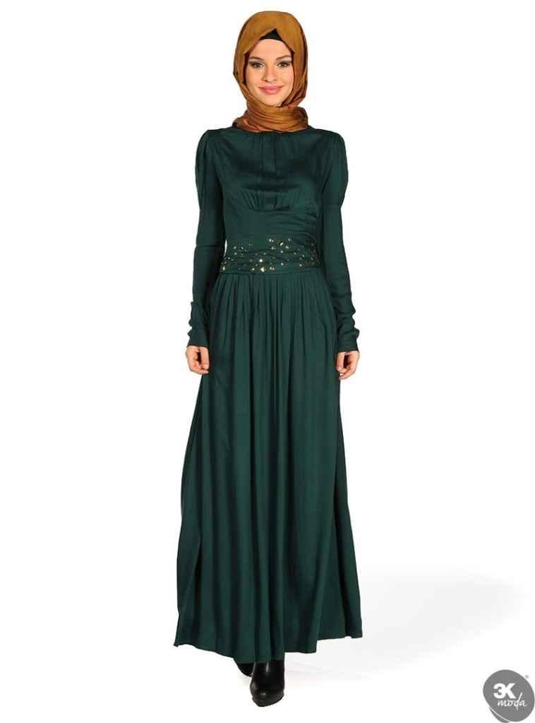 Kapalı Elbise Modelleri