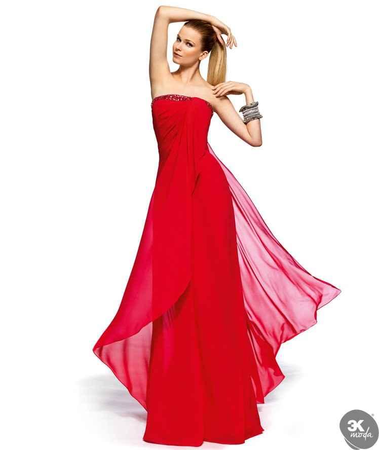 kırmızı en son moda abiyeler
