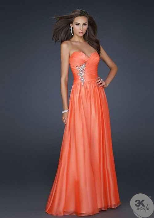 Şifon Elbise Modelleri