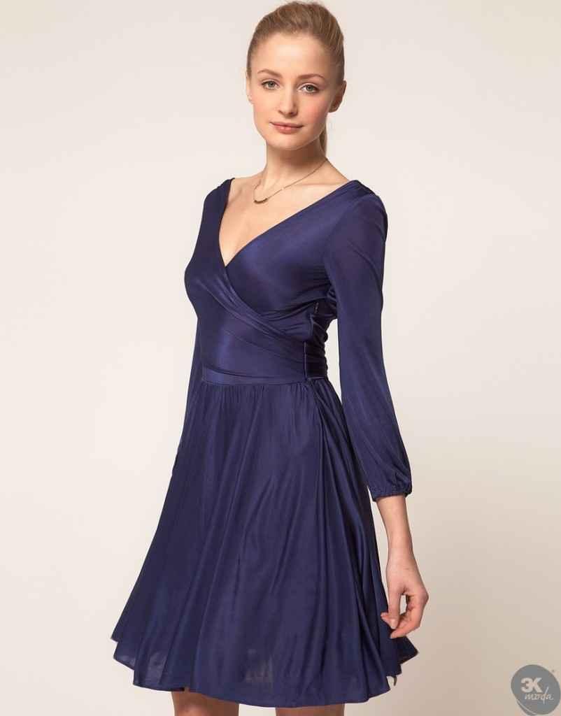 uzun kollu elbise 10 802x1024 Uzun kollu elbise modelleri