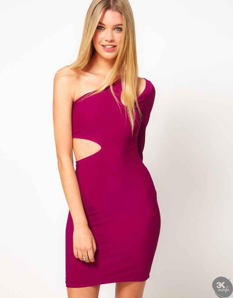 uzun kollu elbise 17 802x1024 Uzun kollu elbise modelleri