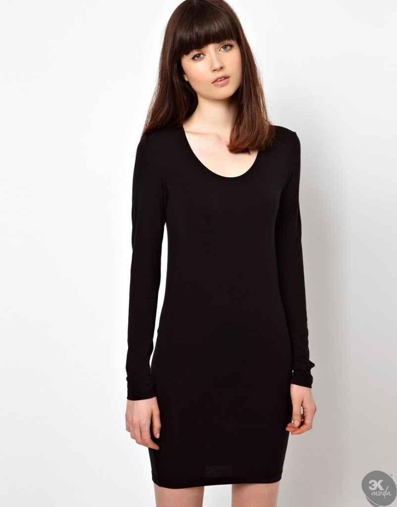 uzun kollu elbise 28 802x1024 Uzun kollu elbise modelleri