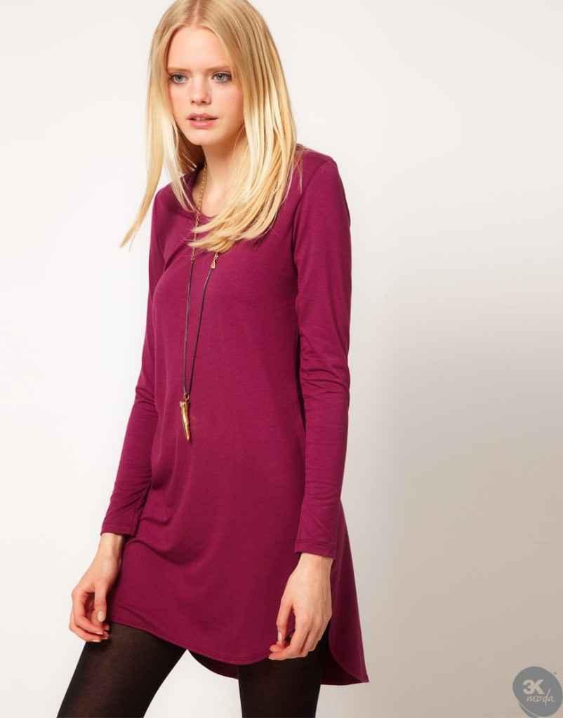 uzun kollu elbise 5 802x1024 Uzun kollu elbise modelleri