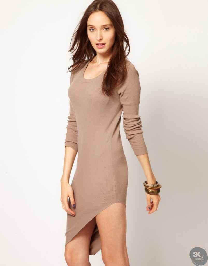 uzun kollu elbise 6 802x1024 Uzun kollu elbise modelleri
