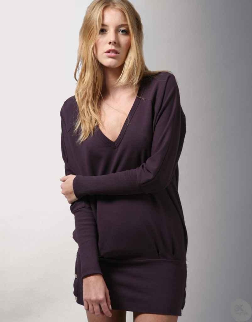 uzun kollu elbise 9 802x1024 Uzun kollu elbise modelleri