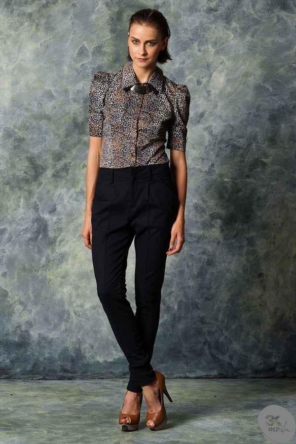 zara pantolon 2013 14 Zara pantolon modelleri