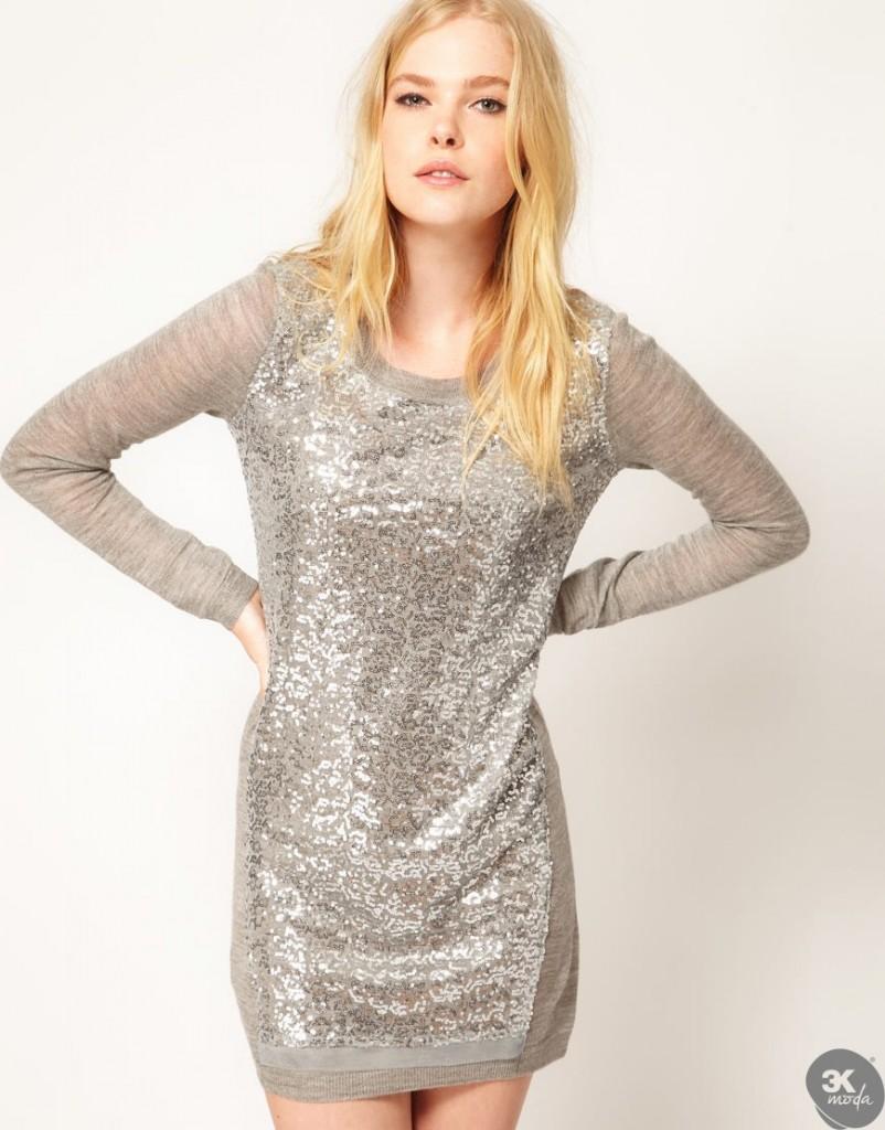Triko Elbise Modelleri