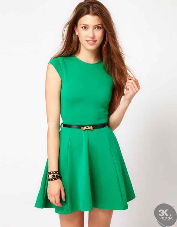 da2a16d00f82b Yeşil Elbise Modelleri | | 3k Moda | Diyet Tadında Moda Keyfi