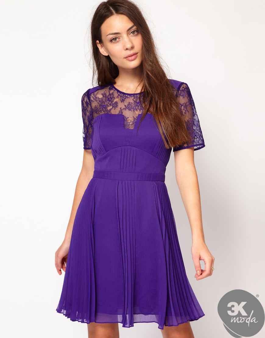 Фиолетовое Платье Доставка