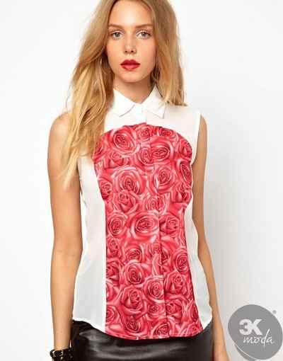 Блузка С Розами