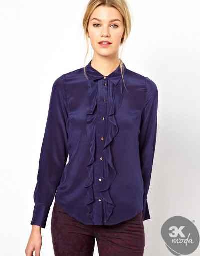 Fırfırlı Gömlek Modelleri