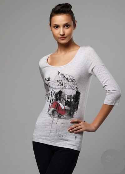 Bayan Tshirt Modelleri