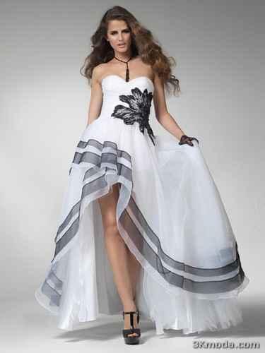 Kısa Mezuniyet Elbiseleri