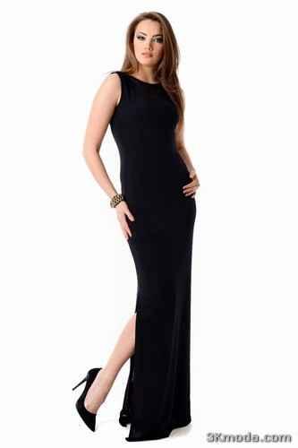 Dar Uzun Elbise Modelleri 2014