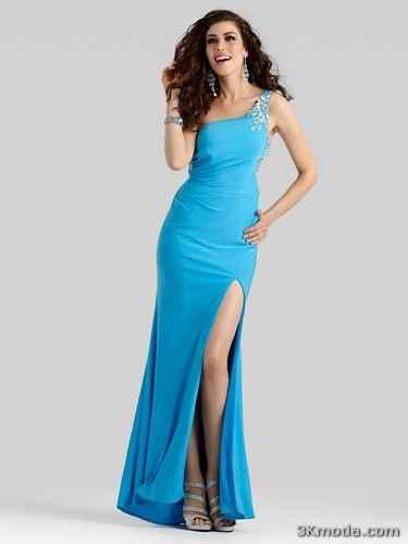 Uzun Abiye Modelleri 2014