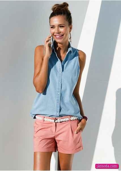 Kolsuz Bayan Gömlek Modelleri