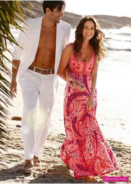 Yazlık plaj elbiseleri