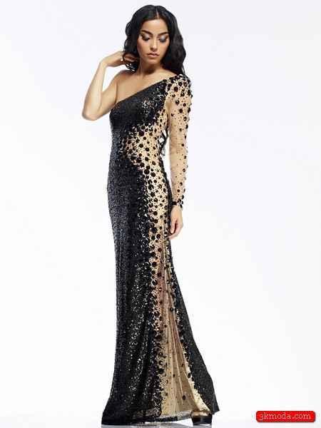 Siyah Yazlık Elbise Modelleri