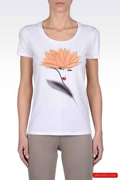 Armani Yazlık Tişört Modelleri