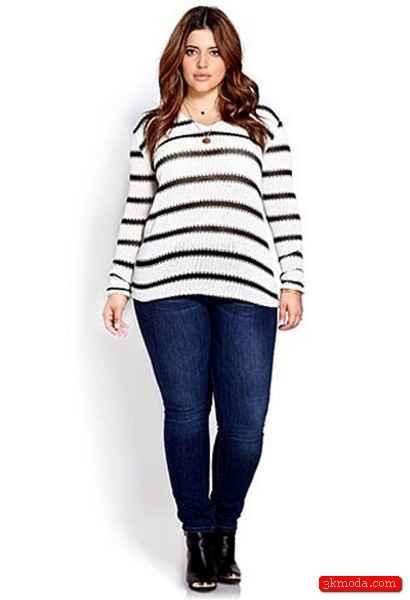 Balık Etlilere Yakışan Pantolon Modelleri 2015