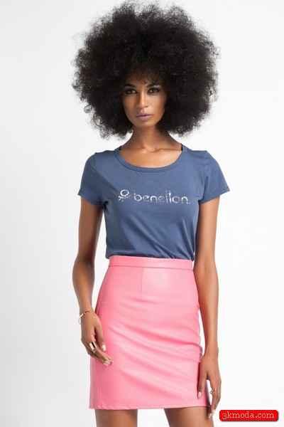 Mor Yazlık Tişört Modelleri