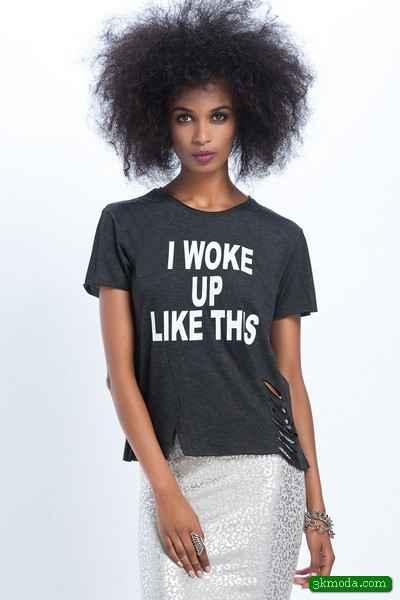 Siyah Tişört Modelleri