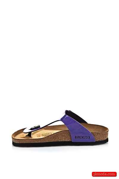 Mor Yazlık Bayan Ayakkabı Modelleri