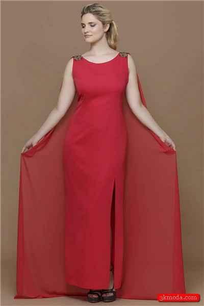 Geniş basenli bayanlara yakışan abiye elbise modelleri