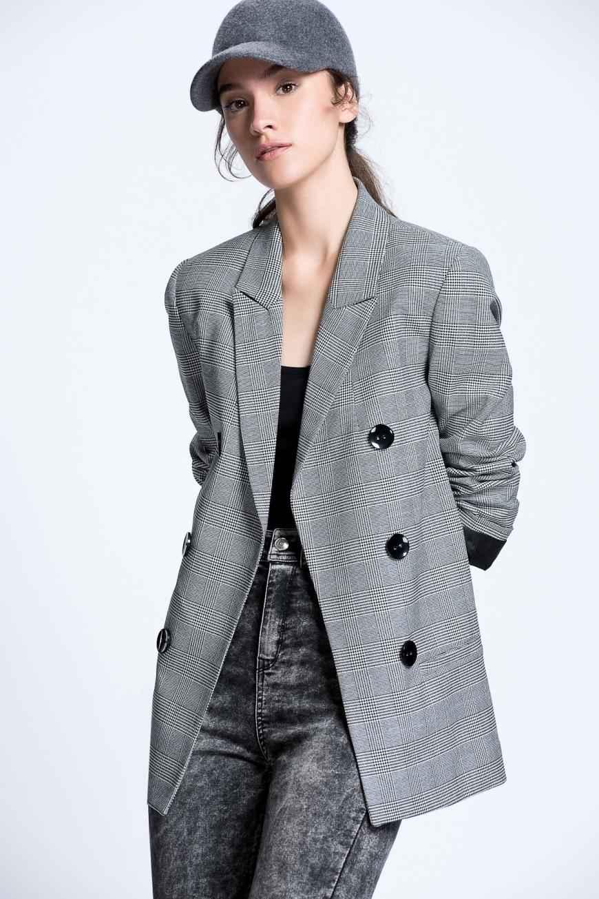 Koyu Renk Bayan Ceket Modelleri