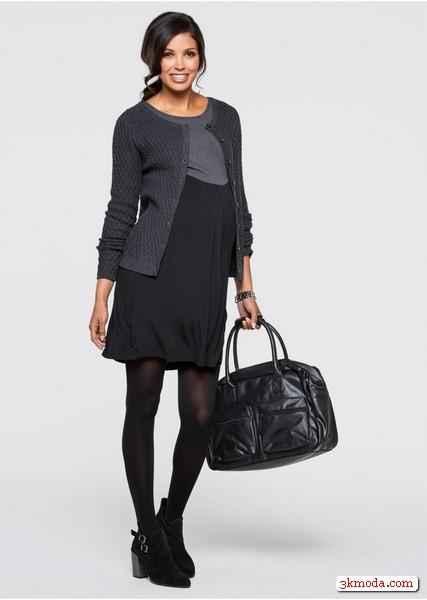 Sonbahar Kış Hamile Elbise Modelleri