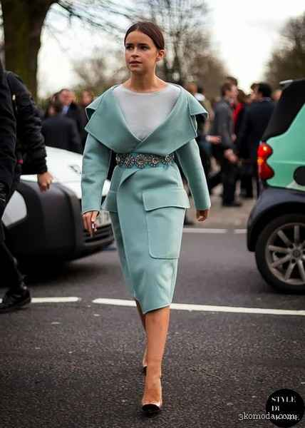İngiltere sonbahar sokak trendleri