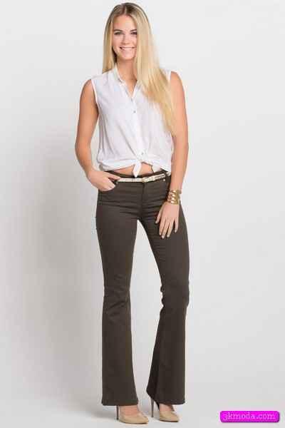 e61016173abf5 Bol Paça Pantolon Modelleri | 3K Moda