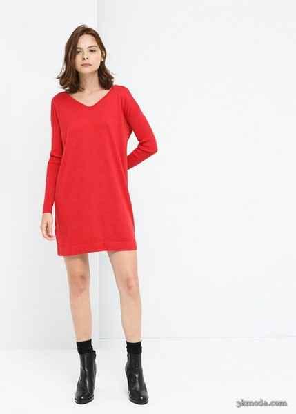 Renkli Elbise Modelleri 2015