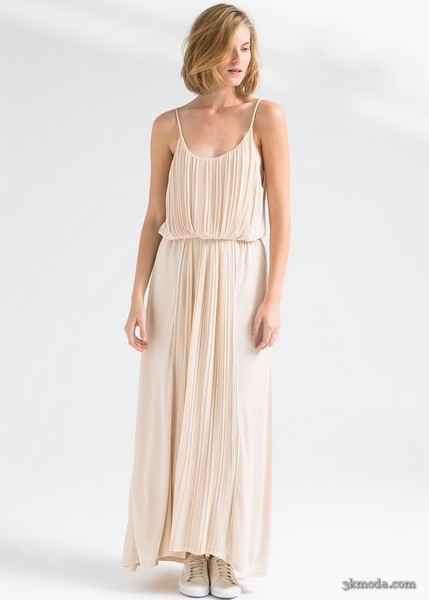 Uzun Elbise Modelleri 2015