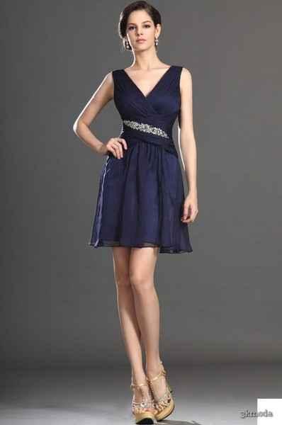 5b3ae3dbe3728 Lacivert abiye elbise modelleri 2015 | 3K Moda