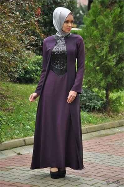 ee84af6f43640 Sarar Sonbahar Kış Tesettür Elbise Modelleri | 3K Moda