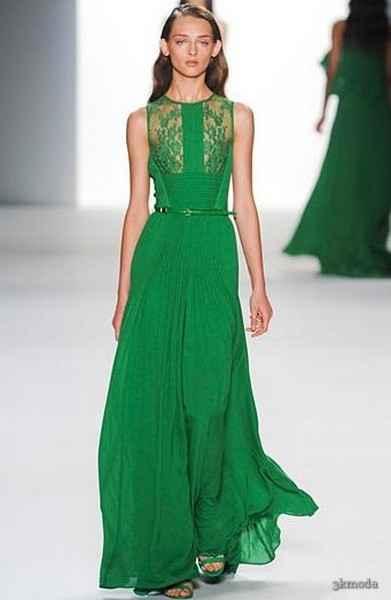 Yeşil Abiye