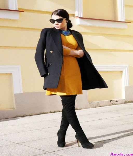 Güçlü Winter Tarzı Elbiseler
