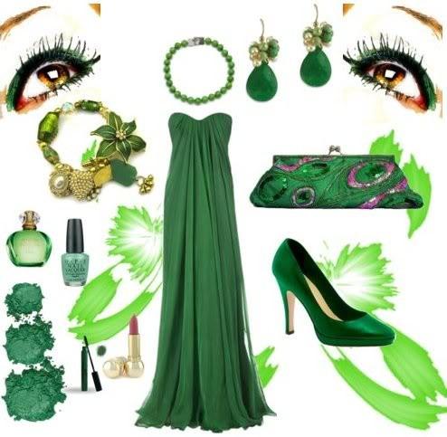81a7f8ec4bc46 Yeşil Elbise Kombinleri | 3K Moda