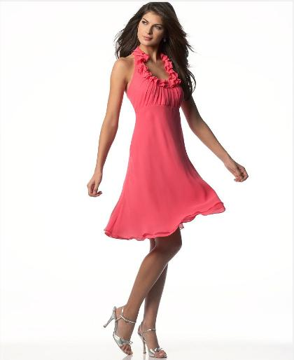 5a4548b7fe577 2014 Pembe abiye elbise modelleri Moda Renkleri