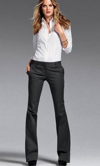 c577d0f4e783d 2013 Bayan Kumaş Pantolon Modelleri Bakımlı Kadın
