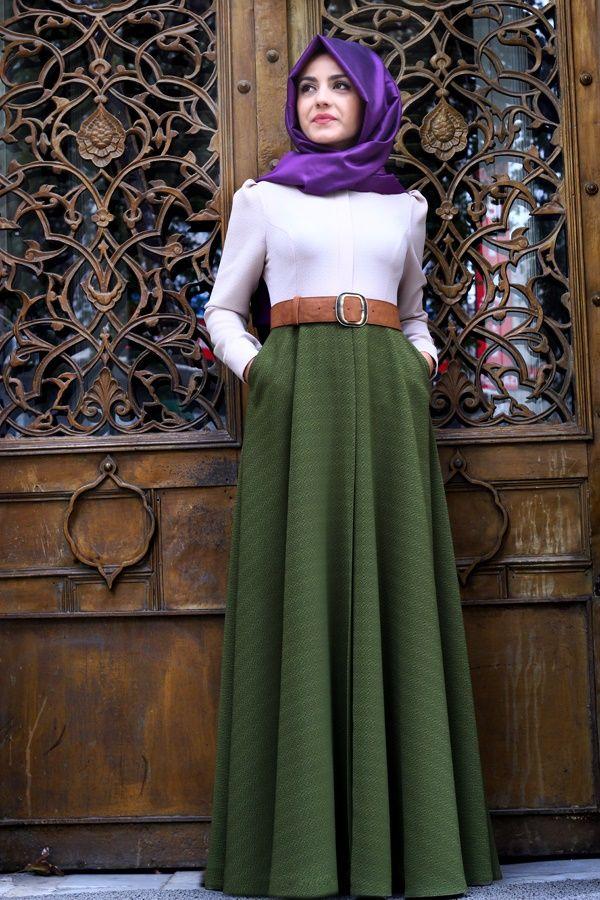 deaf77283e296 2019 Yazlık Tesettür Tunik Modelleri En moda ve En Yeni Giyim …