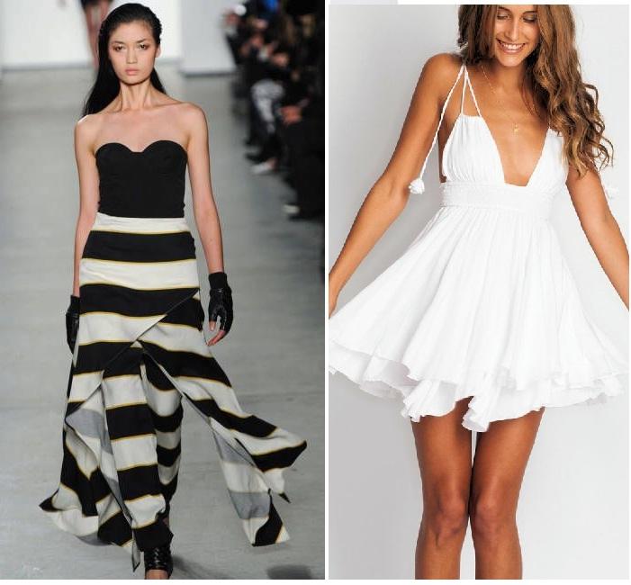 be5def8057d01 Basenli Bayanlara Yakışan Önden Yırtmaçlı Elbise Modelleri … buyuk bedenler  icin desenli kiyafet kombinleri 2014 – StyleKadın