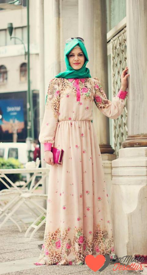 a624cfab01079 Yazlık tesettür elbiseler | 3K Moda