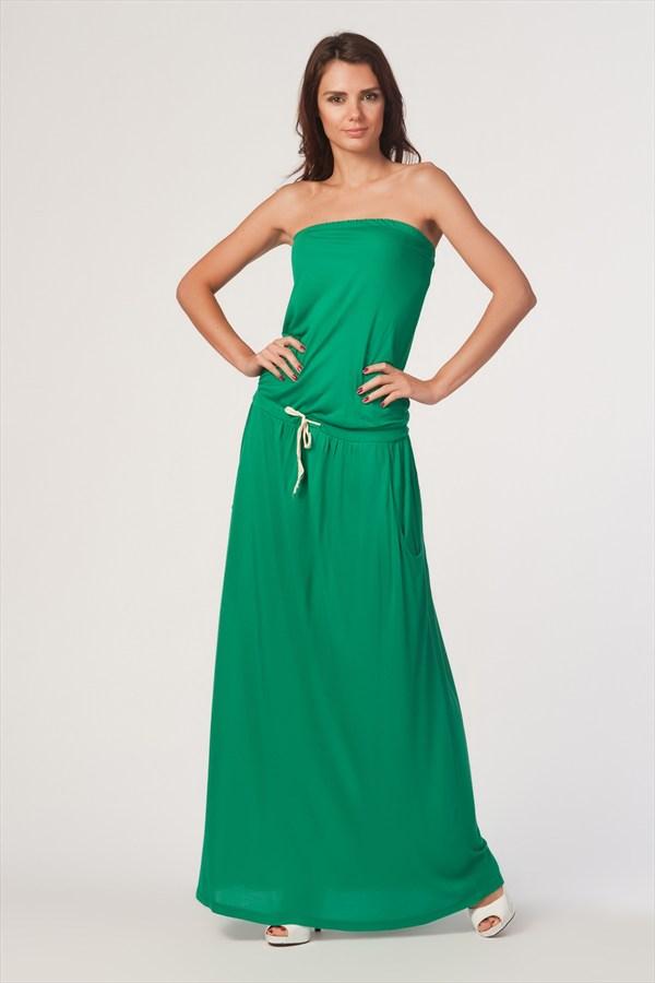 eade4af50acd9 En Güzel Yeşil Yazlık Elbise Modelleri | 3K Moda