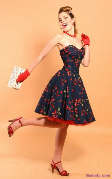 Straplez Elbise