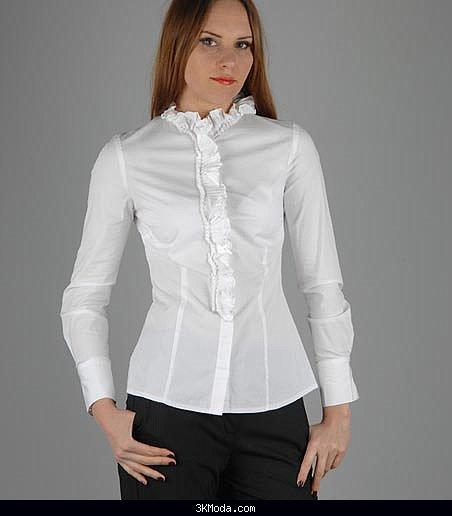 Beyaz bayan gömlek modelleri 2016
