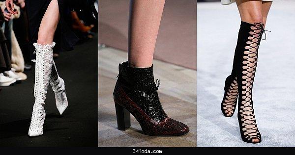 Kısa topuklu ayakkabı modelleri 2016